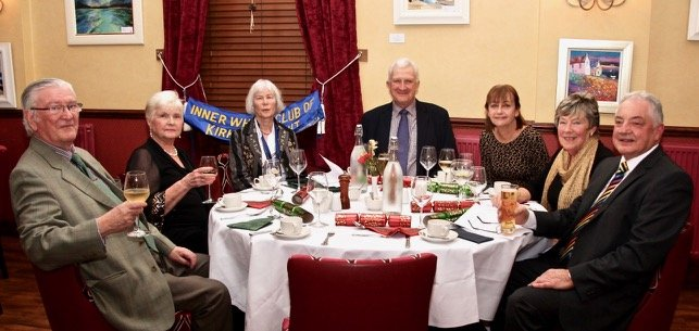 Kirkcudbright christmas dinner