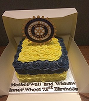 71st birthday cake